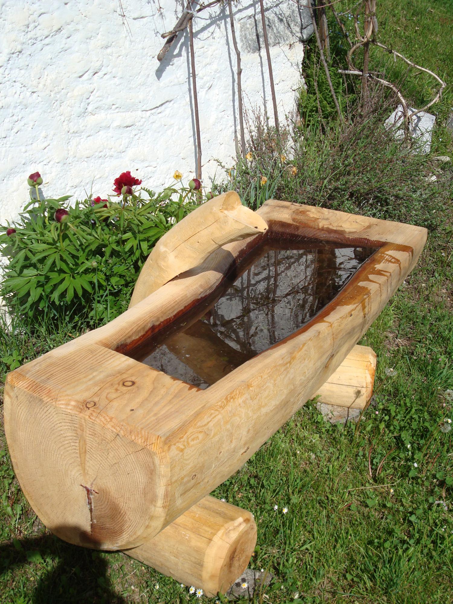 Servizi profor sa azienda forestale for Fontane in legno